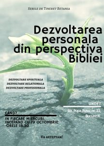 Afis Studiu Dezvoltarea Personala